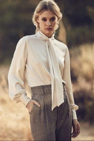 STENSTRÖMS – Skjorte i silke