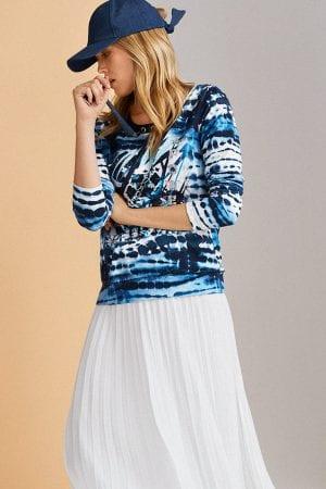 JUST WHITE – Nederdel i plice
