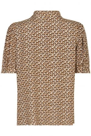 IN FRONT – Skjorte med puff ærme