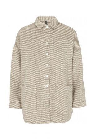 PREPAIR – Skjorte jakke med striber