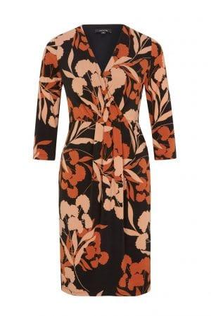 COMMA – Kjole i jersey med print