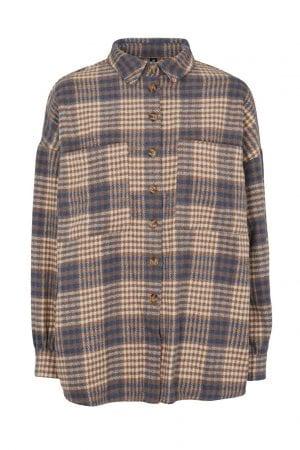 PREPAIR – Skjortejakke med tern