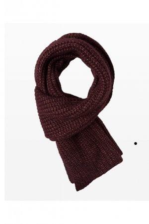 BRAX – Halstørklæde i patent strik