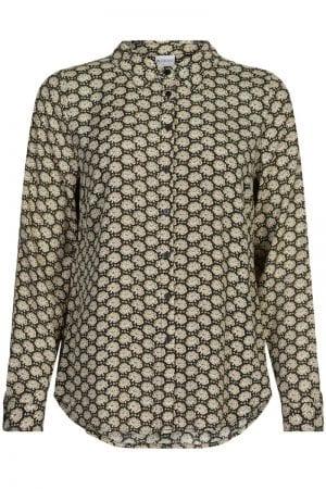 IN FRONT – Skjorte med print