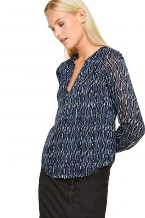 COMMA – Skjorte med glimmer
