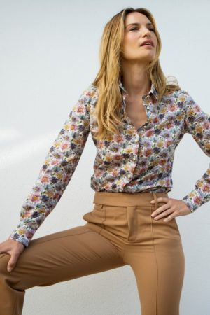 STENSTRÖMS – Skjorte med blomster print