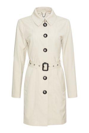 """PBO – Frakke """"Cottoncoat"""" med bælte"""