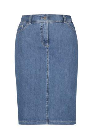 GERRY WEBER – Nederdel i denim