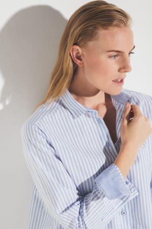 """ETERNA – Skjorte """"Oxford"""" med striber"""