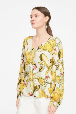 COMMA -Skjorte med puf ærme