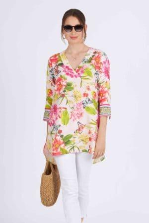 ANGOOR – Tunika/skjorte med print