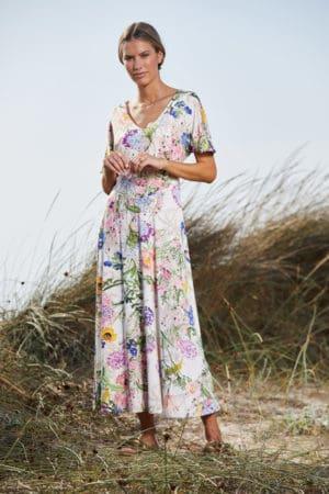 MARIA VILLALOBOS – Kjole med print
