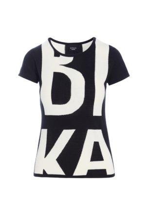BITTE KAI RAND – Strik bluse med print