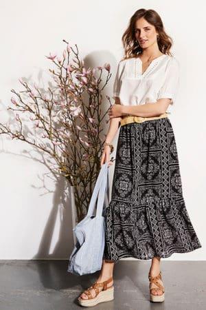 IN FRONT – Nederdel lang model