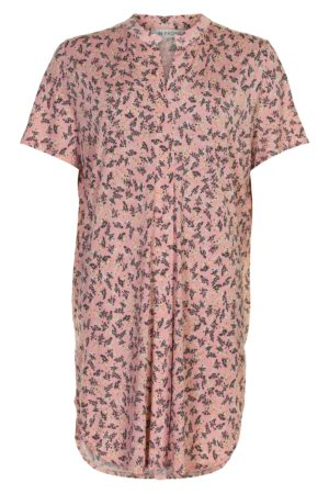 IN FRONT – Tunika/skjorte i softrosa