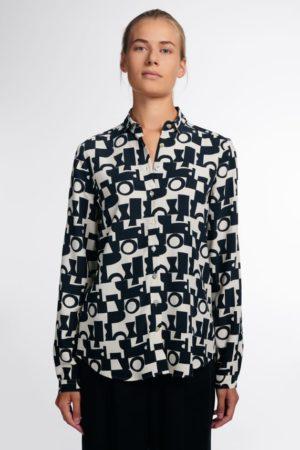 ETERNA – Skjorte med grafisk print