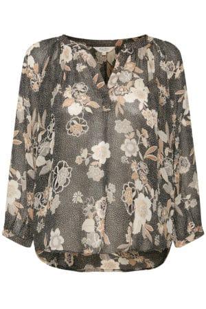 PART TWO – Skjorte i chiffon med print