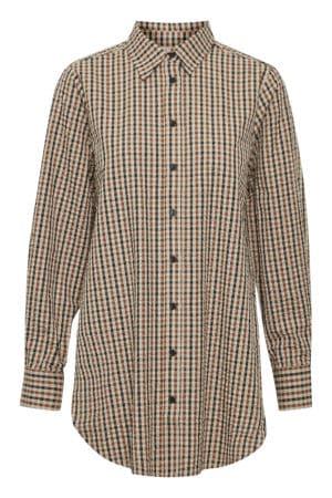 """PART TWO – Skjorte """"Kassias"""" med tern"""