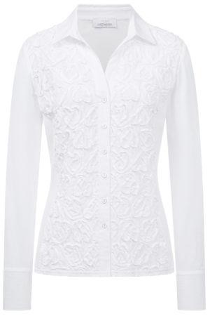 SE JUST WHITE – Skjorte med hjerter