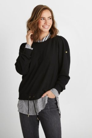 IN FRONT – Sweatshirts med snøre