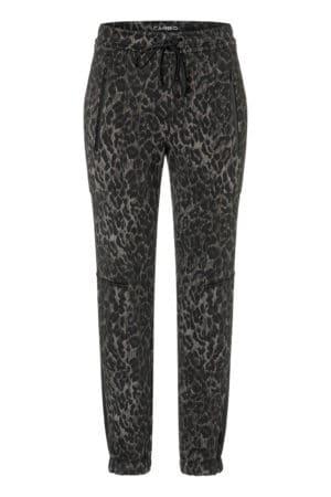 CAMBIO – Bukser med leopart look