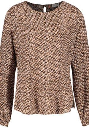 GERRY WEBER – Bluse med mønster